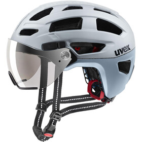 UVEX Finale Visor Helmet silver mat